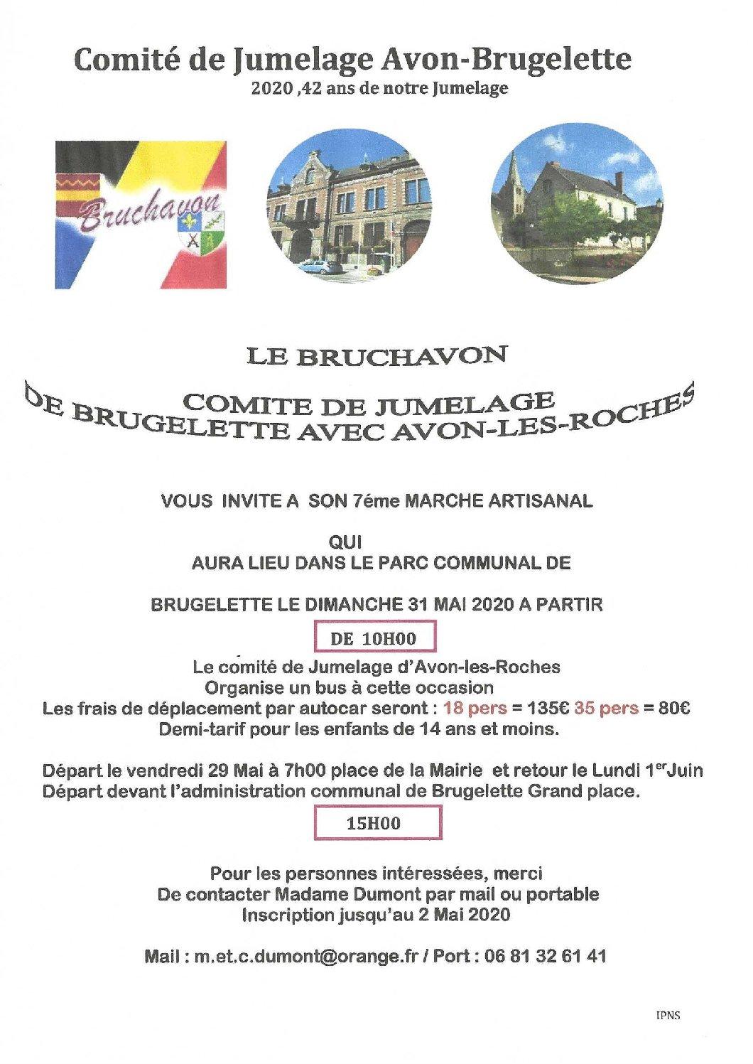 Jumelage Avon-Brugelette
